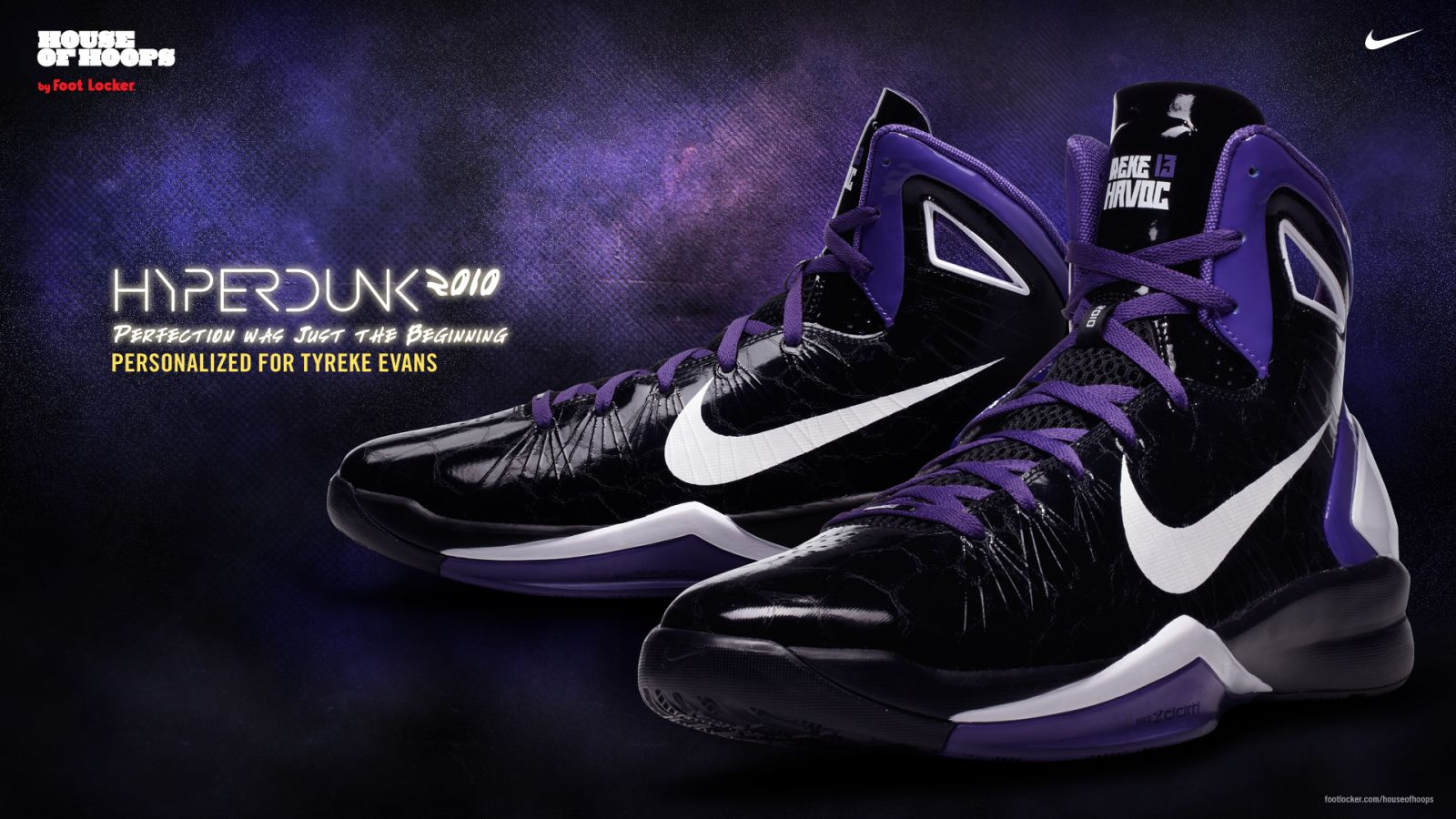 e6c7b572e229 Nike Hyperdunk 2010 - Tyreke Evans Away Player Edition