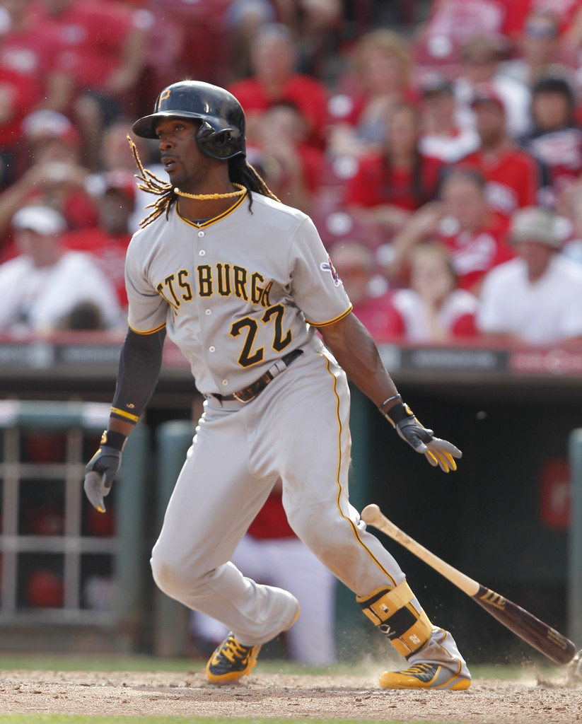 MLB Watch Andrew McCutchen Nike Swingman MVP 2 away PE