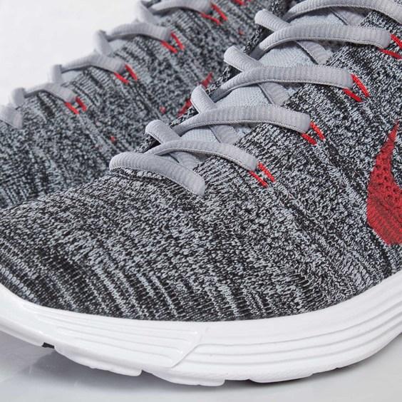 Nike Flyknit Chukka Wolf Grey Red