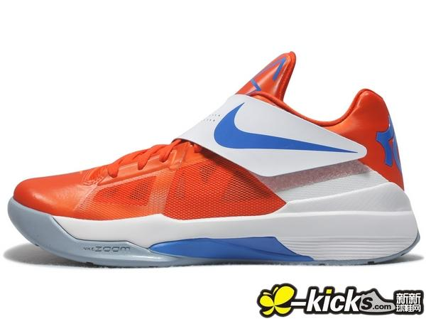 805569a93daf Nike Zoom KD IV Team Orange Photo Blue White 473679-800 (1)