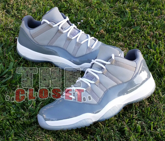 huge discount 7ea82 f08e8 Check out MJ s own  Cool Grey  Air Jordan 11 Retro Low in the photos below,  and be sure to hit the comment section and let us know if you d like to see  ...