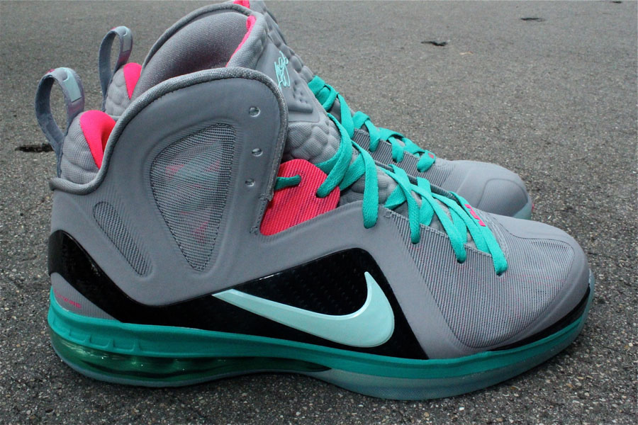 nike lebron 9 ps elite miami vice sole collector