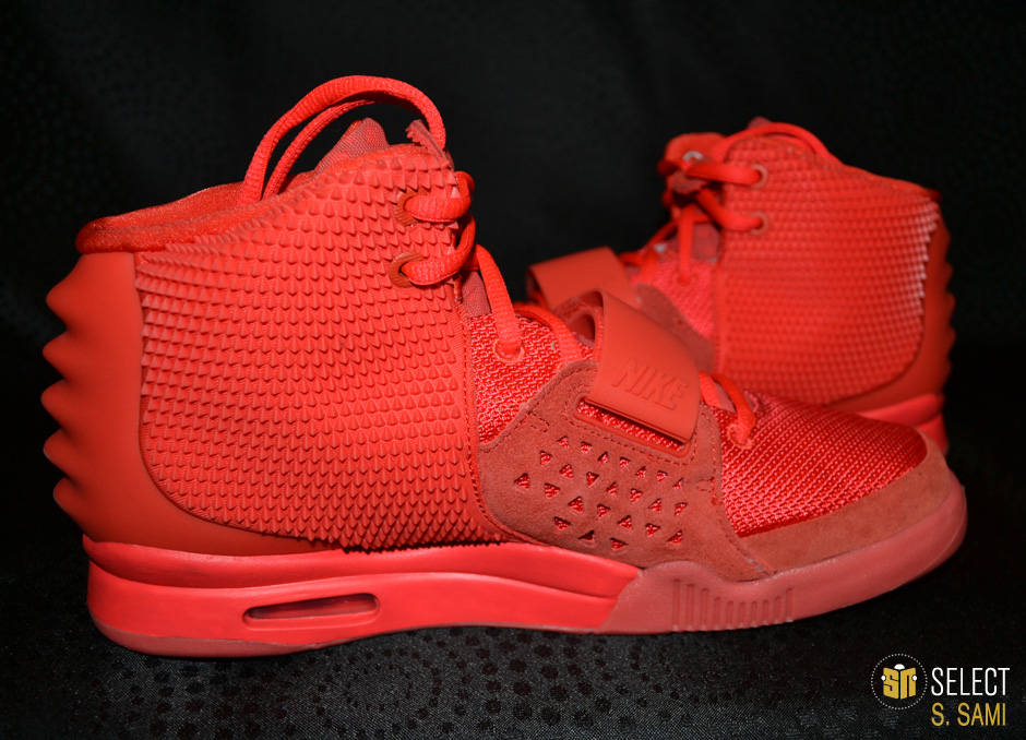 the latest 717d7 a574a Nike Air Yeezy II - Red October    Detailed Look   Sole Collector