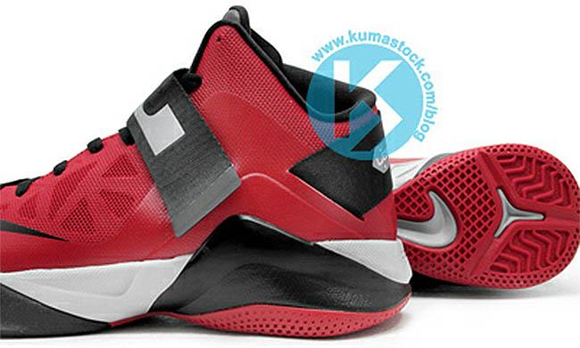 wholesale dealer cee74 955aa Nike Zoom Soldier VI University Red Wolf Grey Black 525015-600 (5)