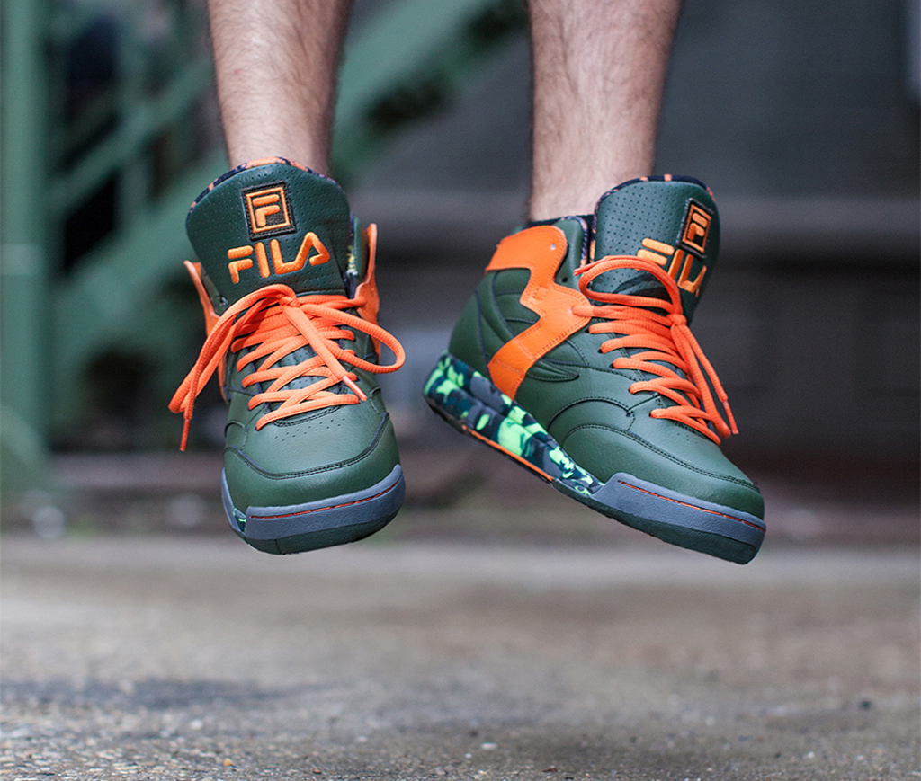 Teenage Mutant Ninja Turtles x Fila M