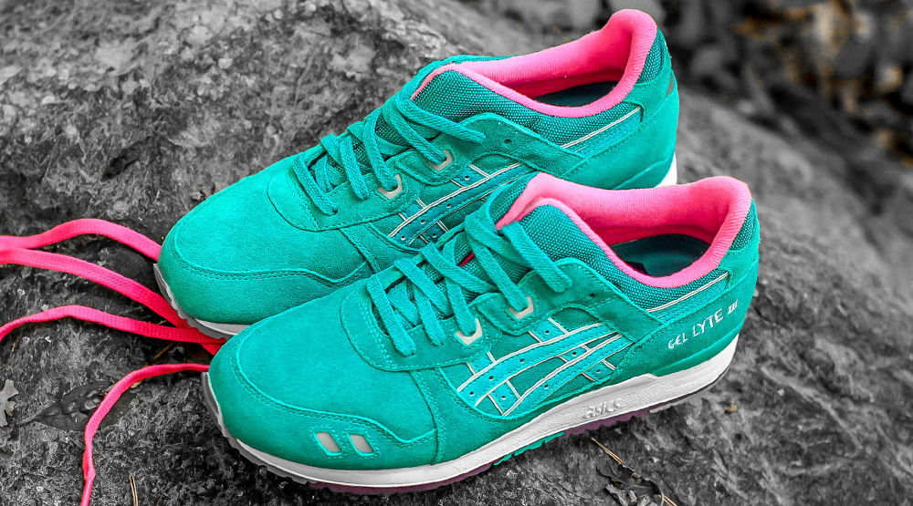 new arrival 525c7 7e683 Asics Gel Lyte IIIs Take a Trip to the Tropics | Sole Collector