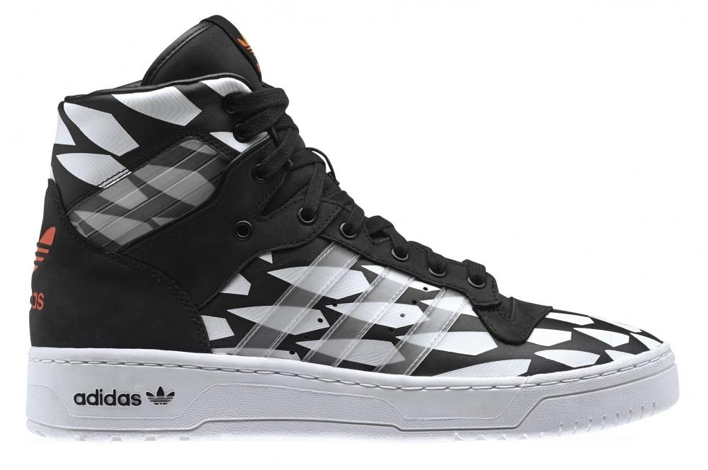 adidas Originals Rivalry Hi Black/Running White-White