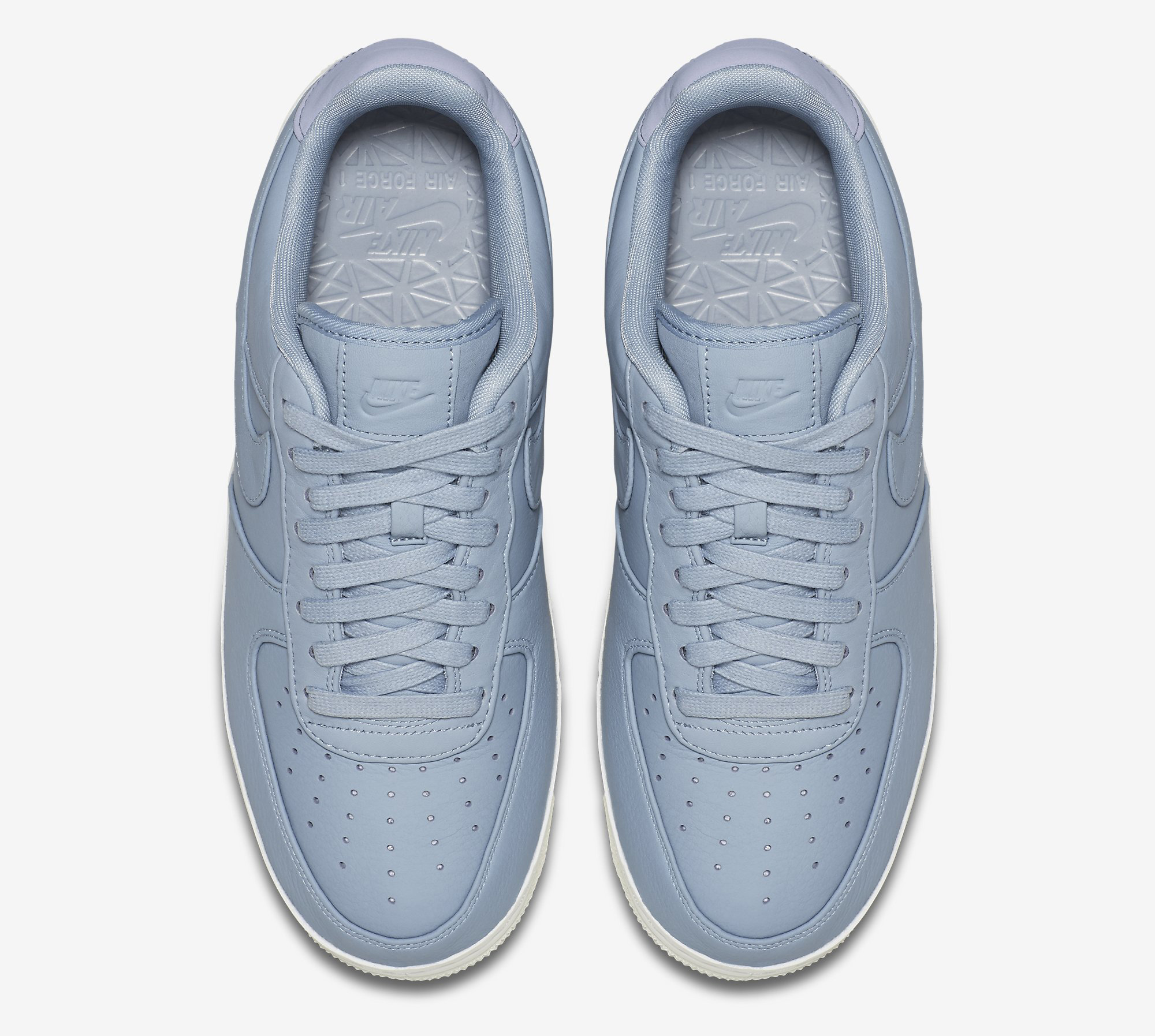 timeless design d2d9f a07fd Image via Nike nikelab-air-force-1-low-blue-grey-905618-