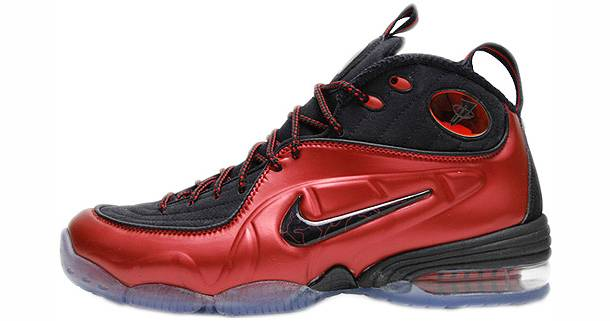 "J.J. Hickson wearing ""Cranberry"" Nike Air 1/2 Cent"