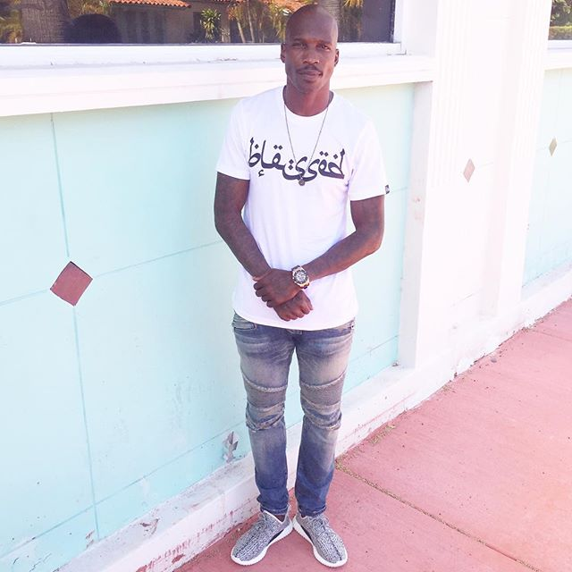 29e1a3fd58f5 Chad Johnson wearing the adidas Yeezy 350 Boost
