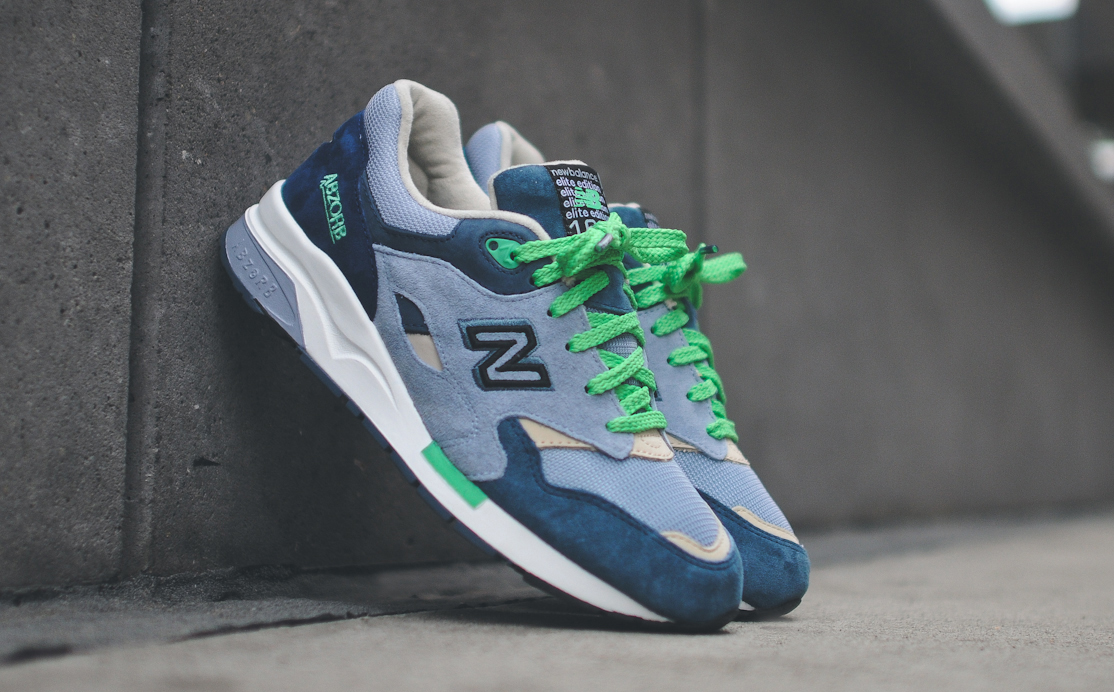 The Urban Exploration New Balances include two pairs of the New Balance  1500 and one pair of the New Balance 1600