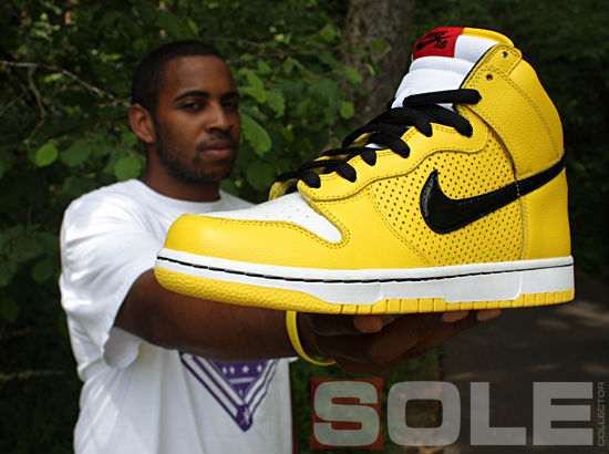 Ian Williams & The 'Wet Floor' Dunk High SB (1)