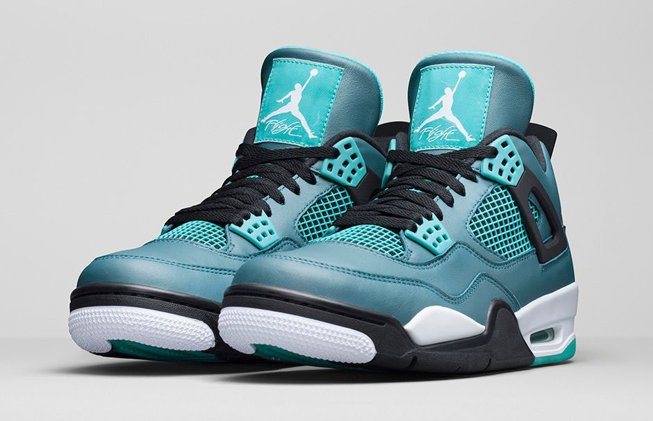 air jordan 4 retro teal for sale