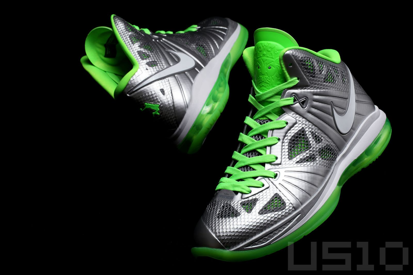uk availability d8e27 ece28 The standard version of the LeBron 8 may not have released, but the Dunkman  colorway of the 8 P.S. was available to the public, with the logo seen  along the ...