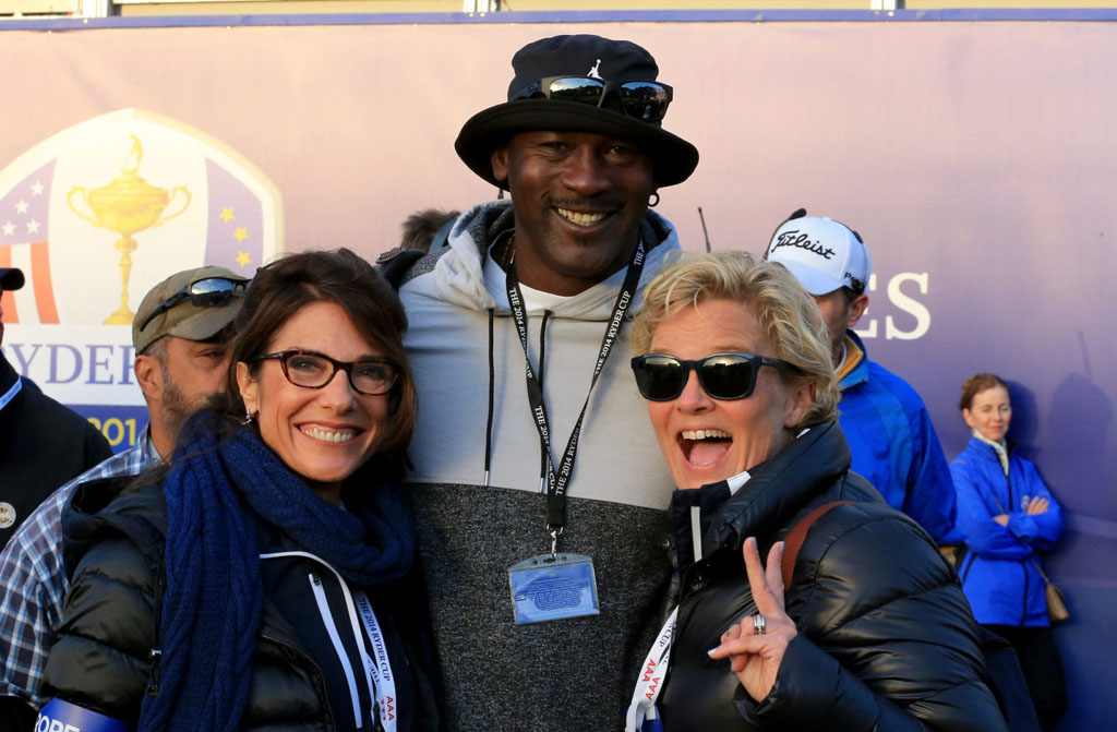 Photos of Michael Jordan Being Cool as Hell at the Ryder Cup Today (5)