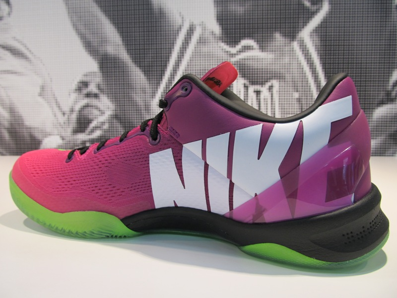 775e3e45bb8 We re provided with another look at the upcoming Mercurial IX soccer boot-inspired  Kobe 8 by Nike Basketball.