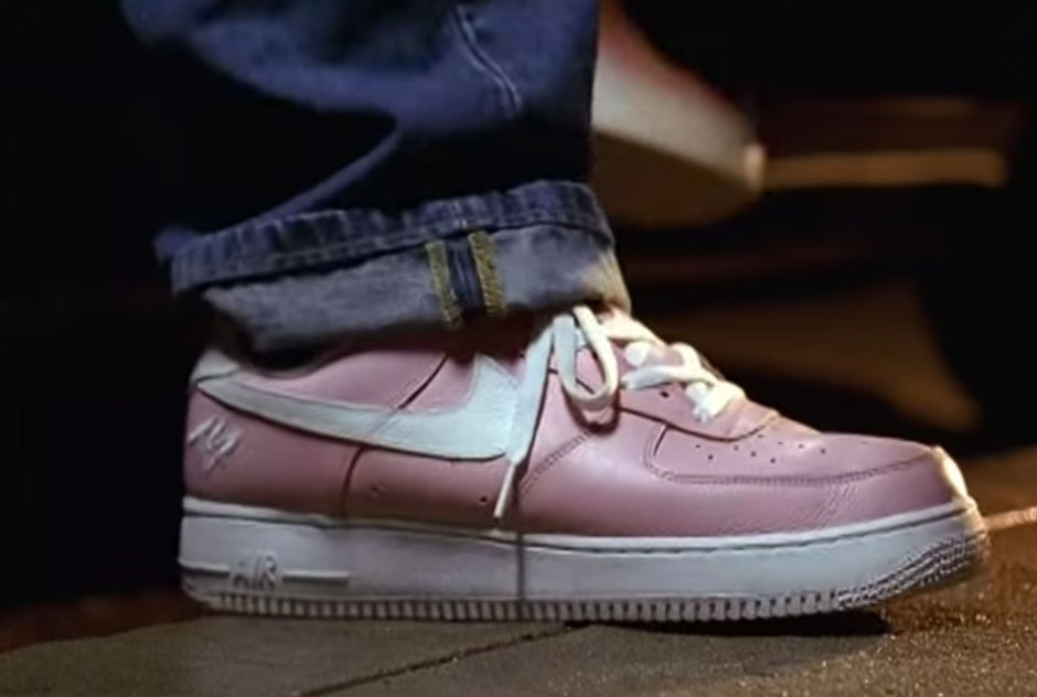 Fat Joe Lean Back Video featuring 'Terror Squad' Nike Air Force 1 Low