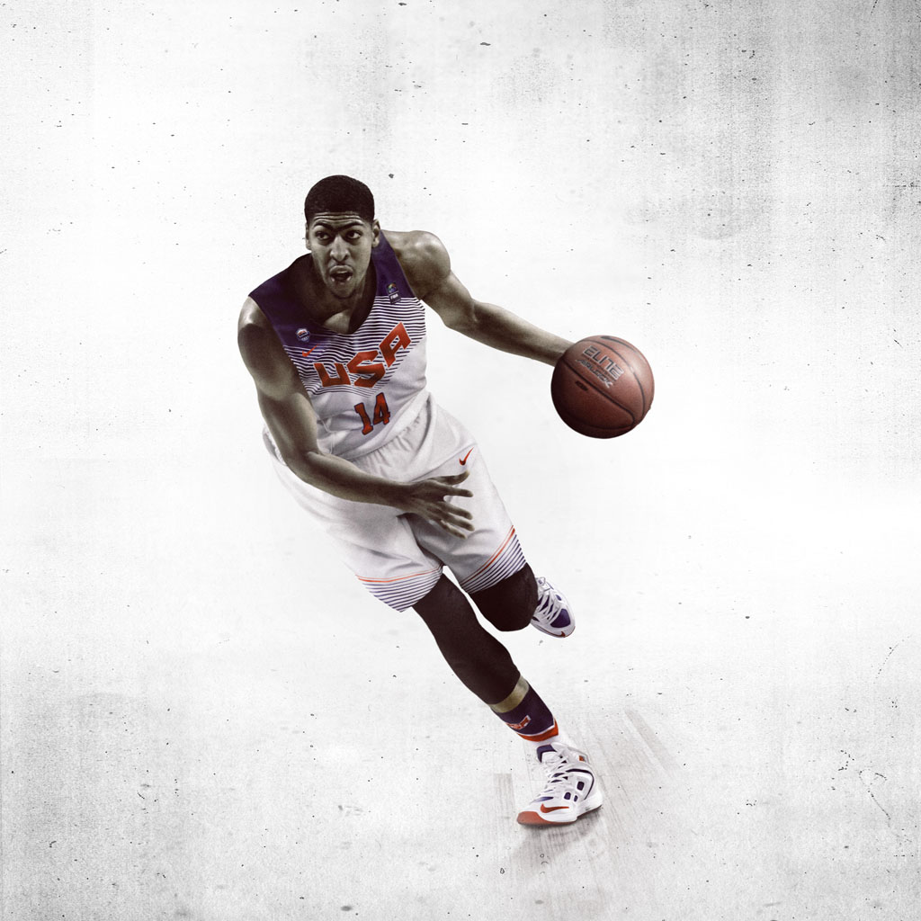 Nike Basketball Unveils 2014 USA Basketball Uniforms - Anthony Davis (2)