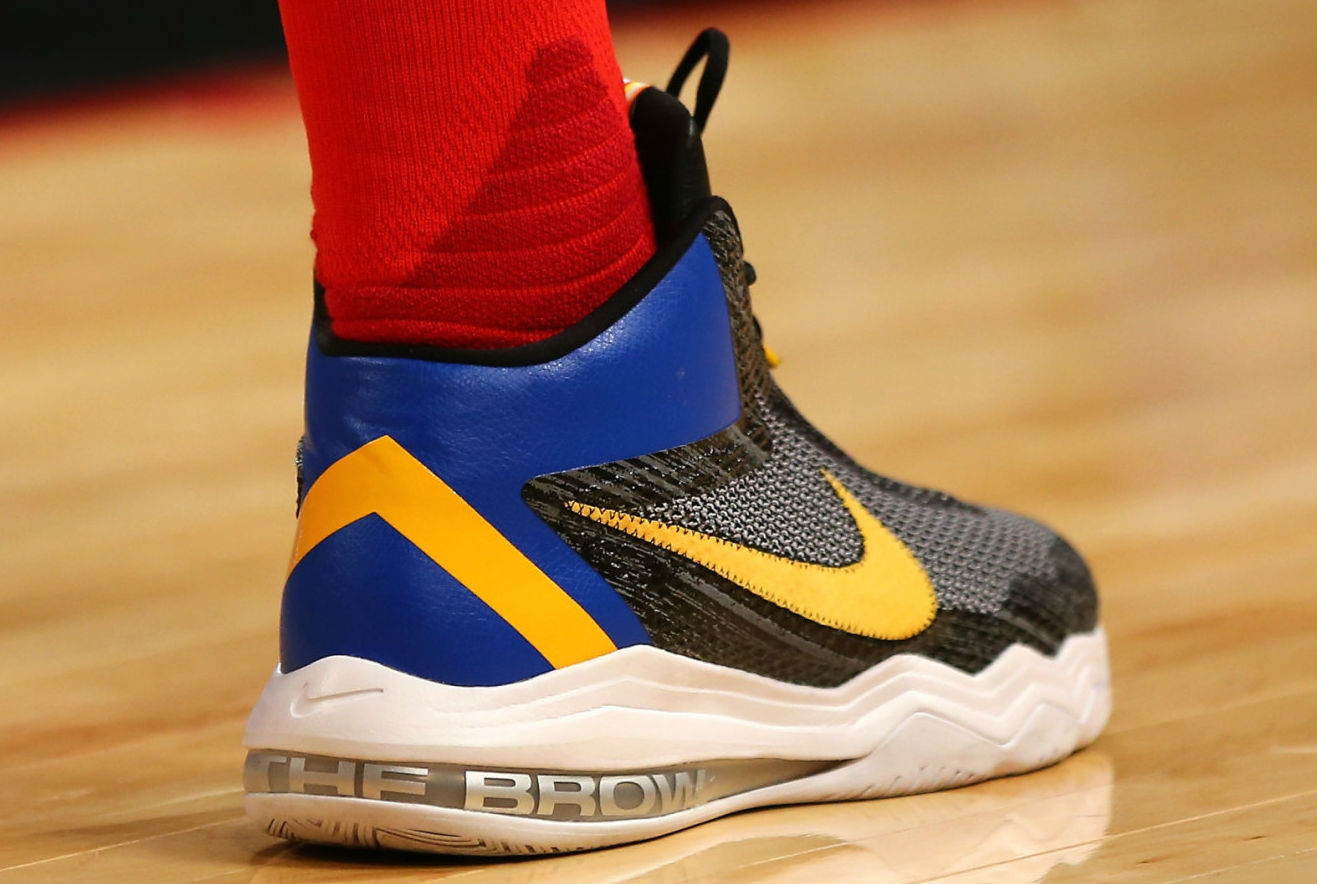 Anthony Davis Wearing the Nike Air Max Audacity (2)