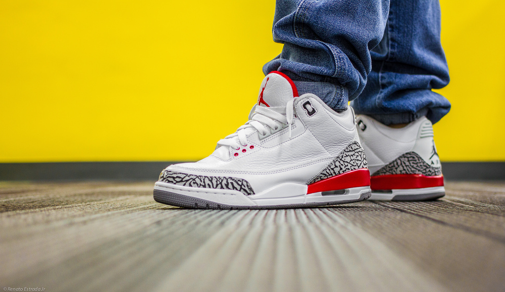 Jordan 3 Fire Red Celebrity - Mallatts.com