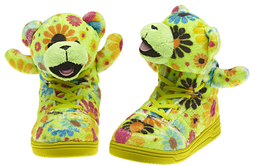 adidas Originals JS Bear Kids Flower Power G61077 (2)