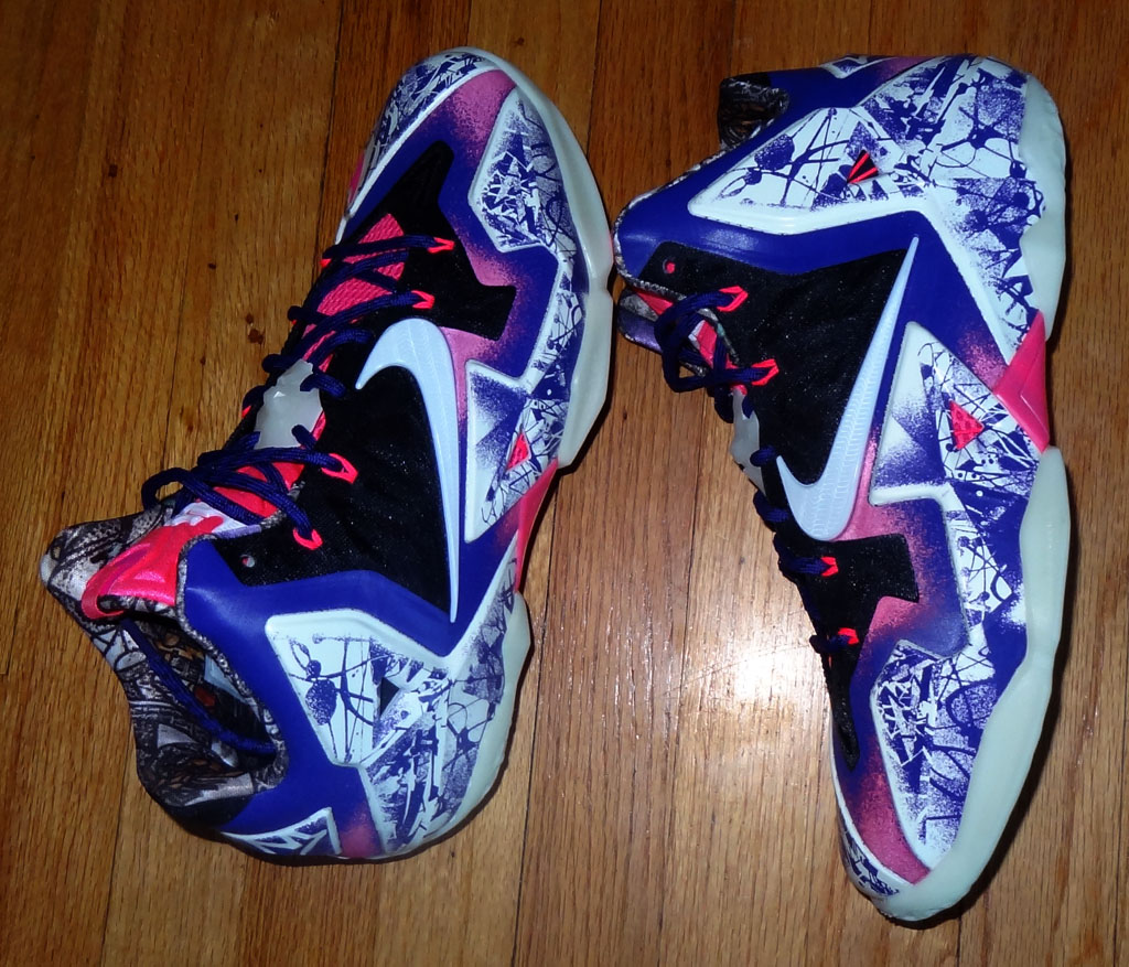 best website 740a1 f6d5d The Best NIKEiD LeBron 11s Of The Year   Sole Collector