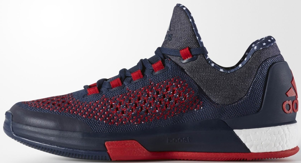 adidas Crazylight Boost 2015 Collegiate Navy/Collegiate Royal-Light Scarlet