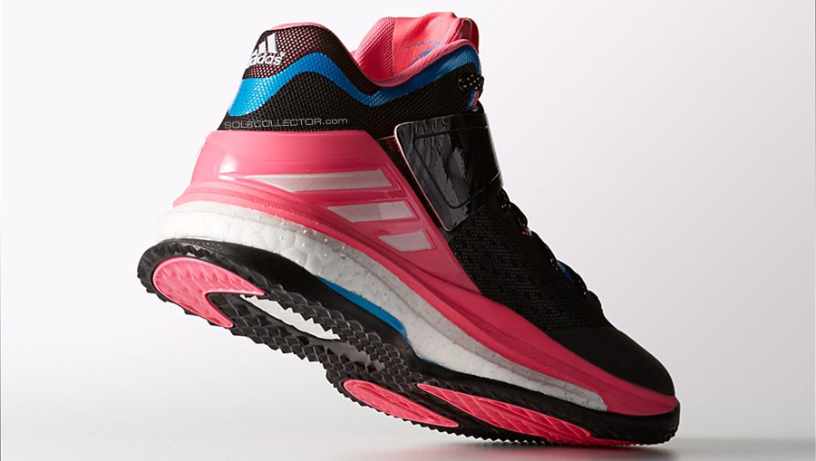 adidas RG3 Boost Trainer Black/Pink-Blue (5)