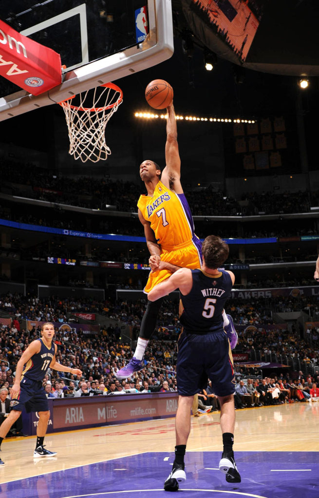 Xavier Henry Posterizes Jeff Withey in 'Purple Gradient' Nike Kobe 8 (2)