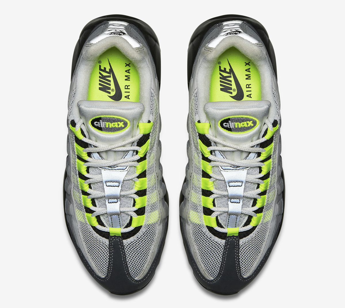 pretty nice 86864 5bd77 There s an OG Detail on 2015 s  Neon  Air Max 95 That You ll Appreciate