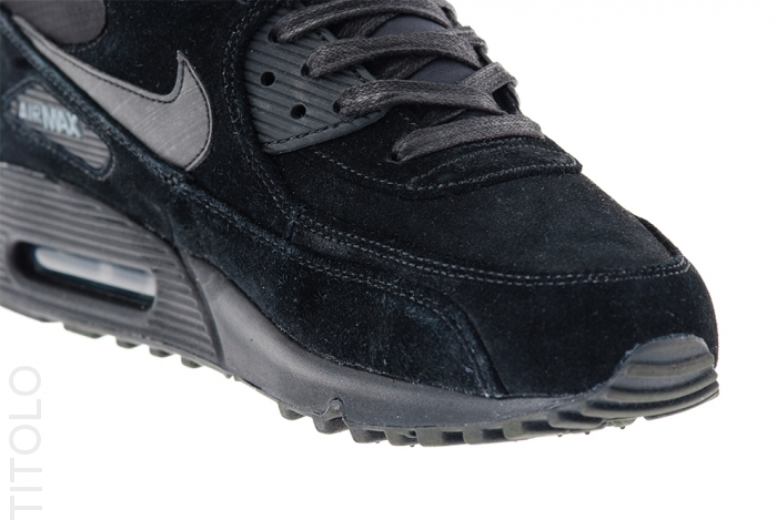 huge selection of 0c72e ed568 Nike Air Max 90 Premium - Black / Dark Charcoal | Sole Collector