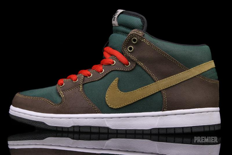 finest selection 9fd9a c1167 Nike SB Dunk Mid Pro - Noble Green