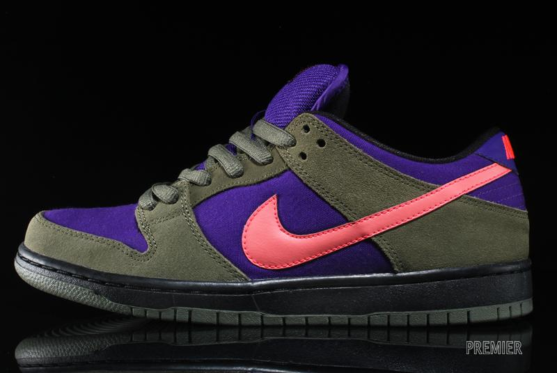 the best attitude 0b19a 0aa65 ... best price nike sb dunk low pro olive atomic red electric purple 4407f  8b65f