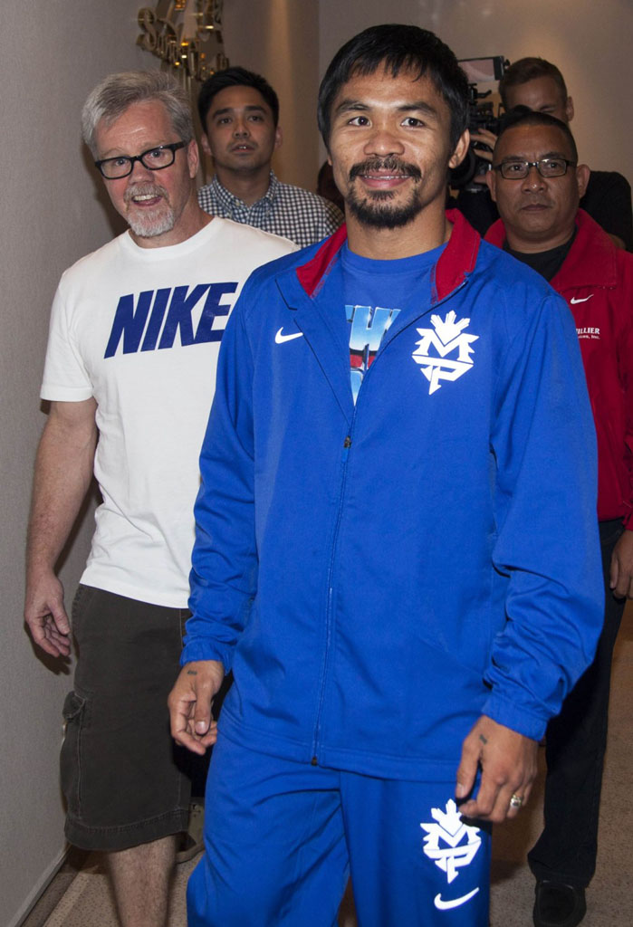 Has Nike Given Up On Manny Pacquiao? (1)