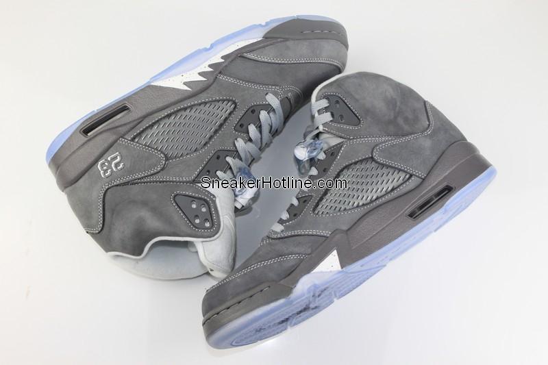 outlet store 8cdc6 51bdb Air Jordan Retro 5 Light Graphite White Wolf Grey 136027-005