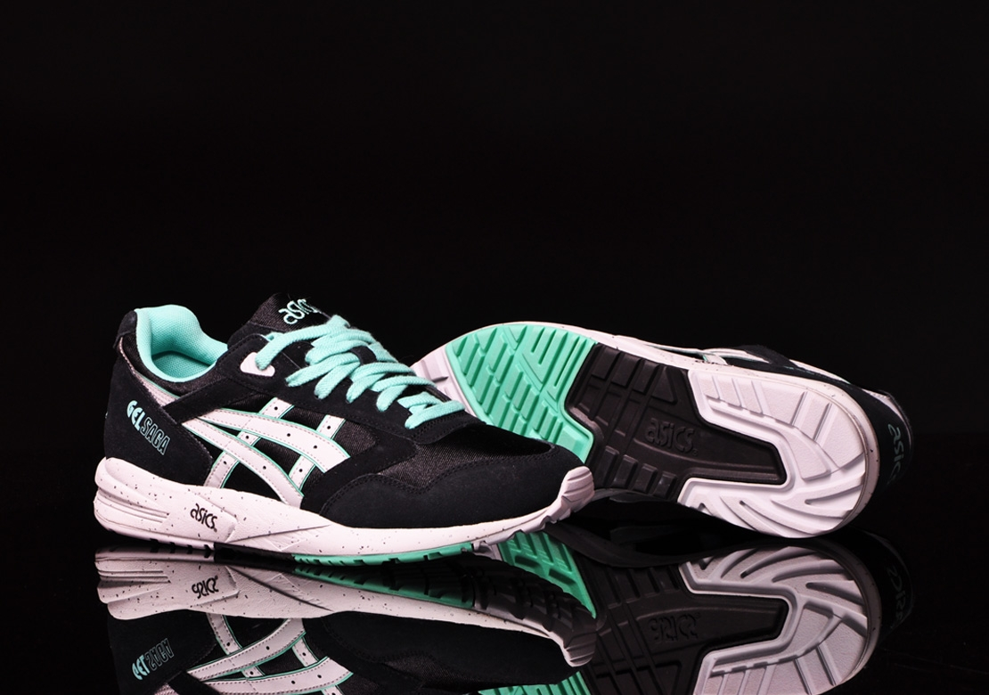Buty Asics Gel Saga Black Glow In The Dark