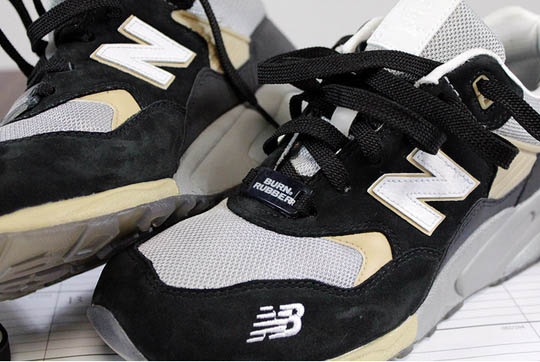 Burn Rubber x New Balance 580 Workforce Pack 2