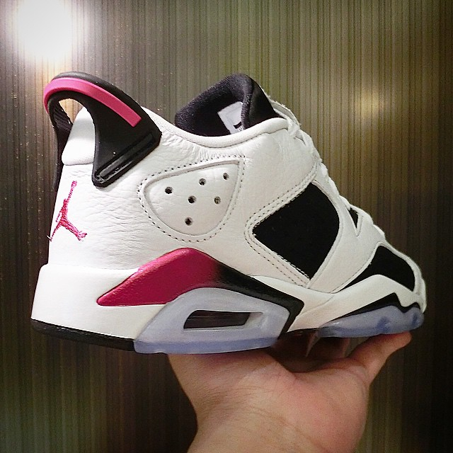 Air Jordan VI 6 Low Sport Fuchsia (3)
