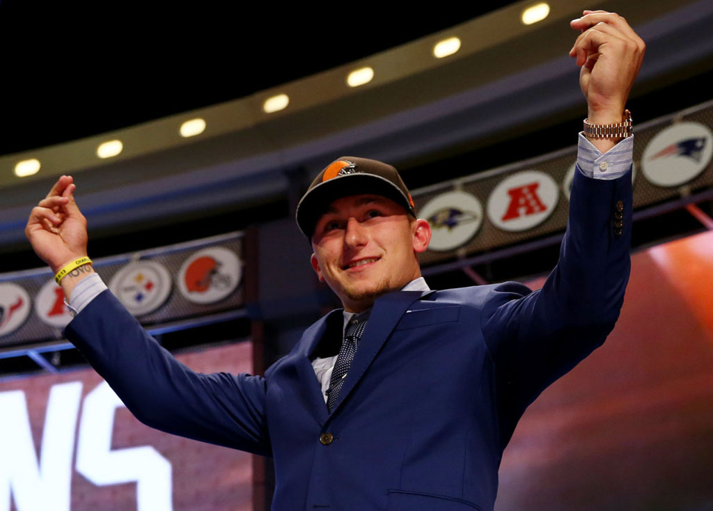 Analyzing the Signature Potential of Johnny Football and Nike's Other Rookie Quarterback Signings (2)
