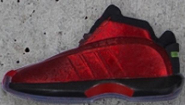 adidas Crazy 1 Red/White-Aluminum-Black