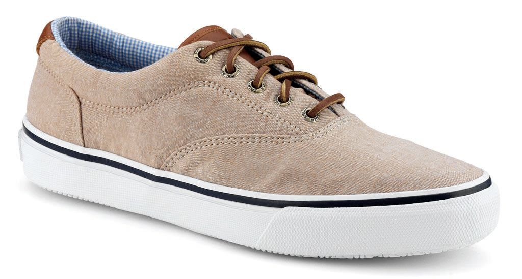 Sperry Top-Sider Chambray Striper CVO - Tan