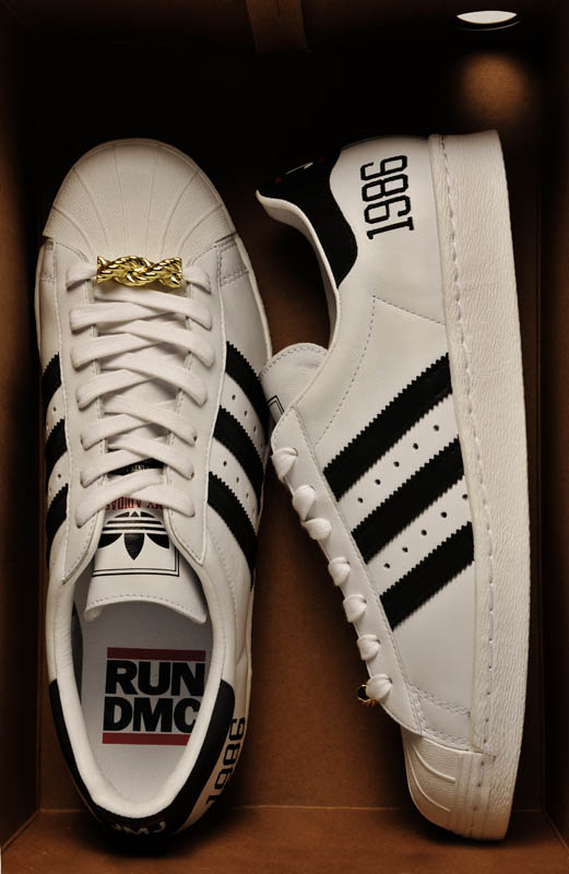 "adidas Originals Superstar 80s - Run DMC ""My adidas"" 25th Anniversary 20"