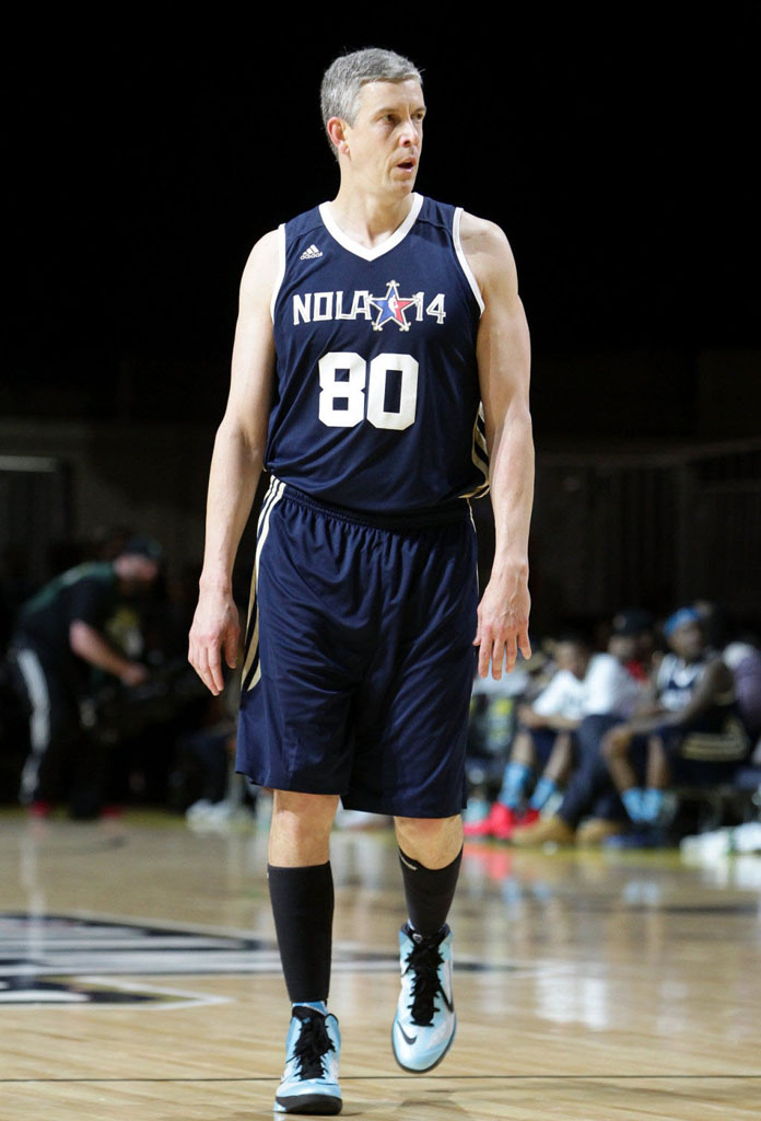 Arne Duncan wearing Nike Zoom Hyperfuse 2013