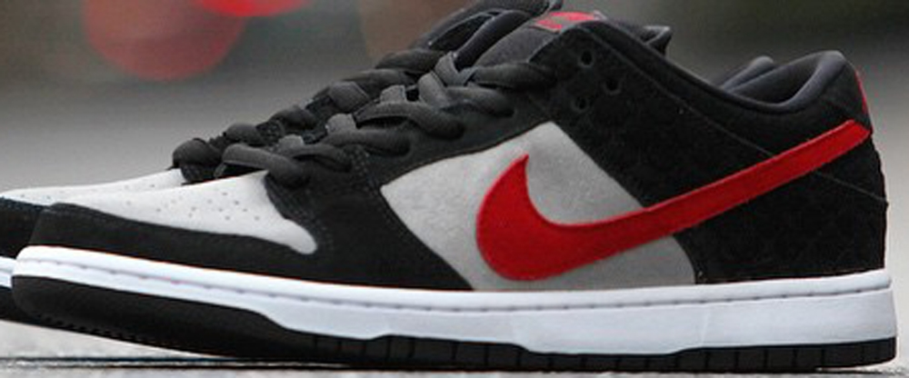 Nike Dunk Low Premium SB Black/Varsity Red-Medium Grey-White