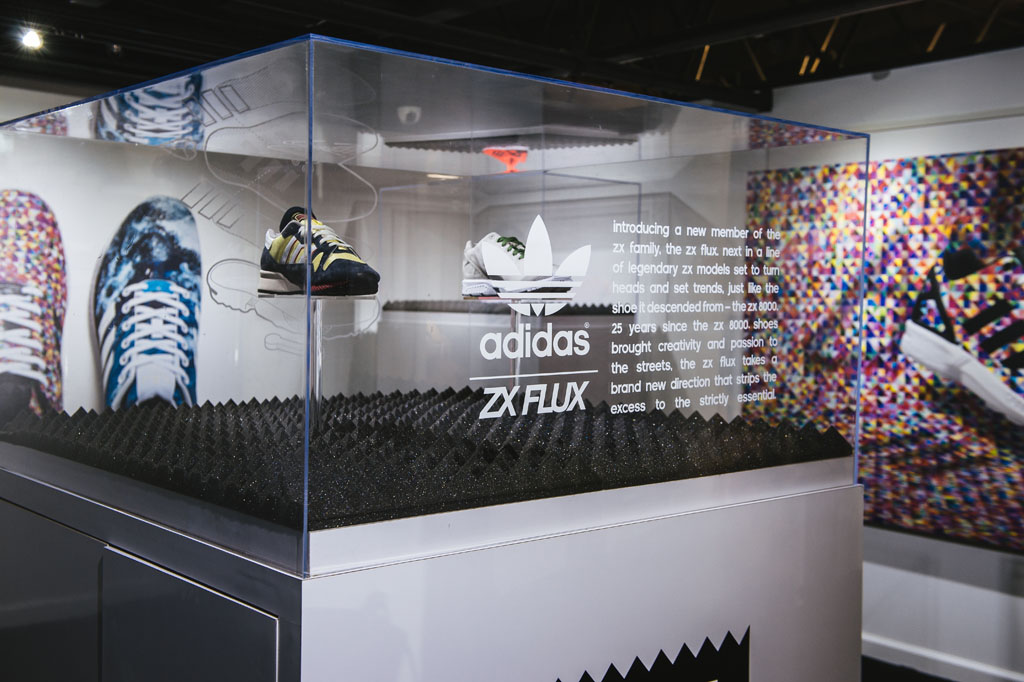 adidas ZX Flux Installation at BAIT (2)