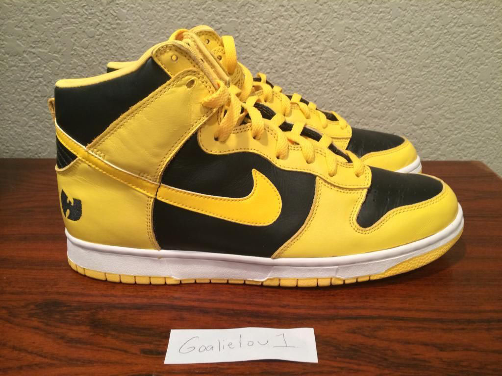8df017c279ecf Ultra Rare 'Wu-Tang' Nike Dunk High Hits eBay | Sole Collector