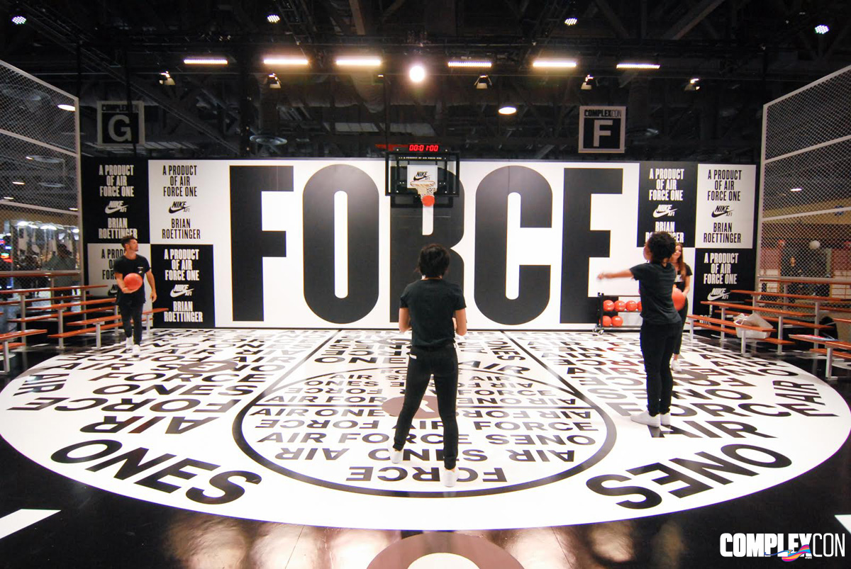 Nike Force Space at ComplexCon (1)