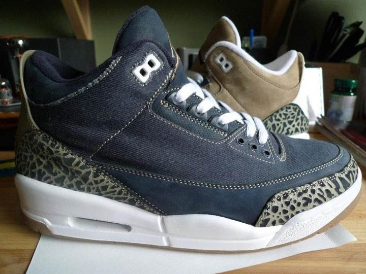 Air Jordan III 3 Denim & Khaki Sample