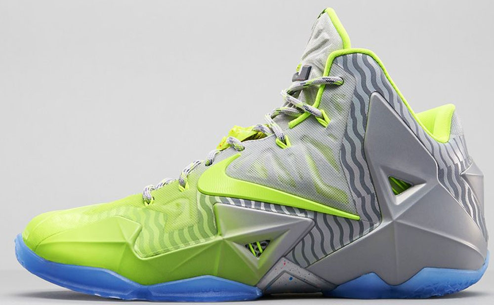 Nike LeBron 11 Volt