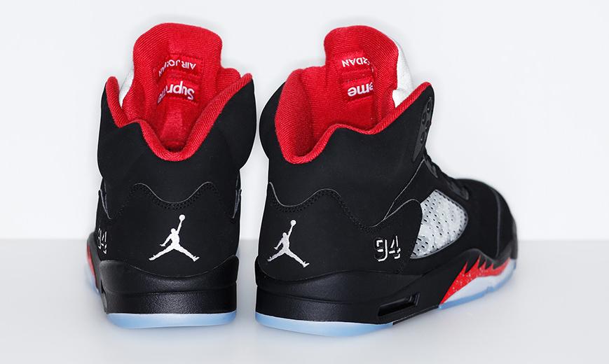 6cdef18efec0 Supreme s Air Jordan 5s Release Tomorrow